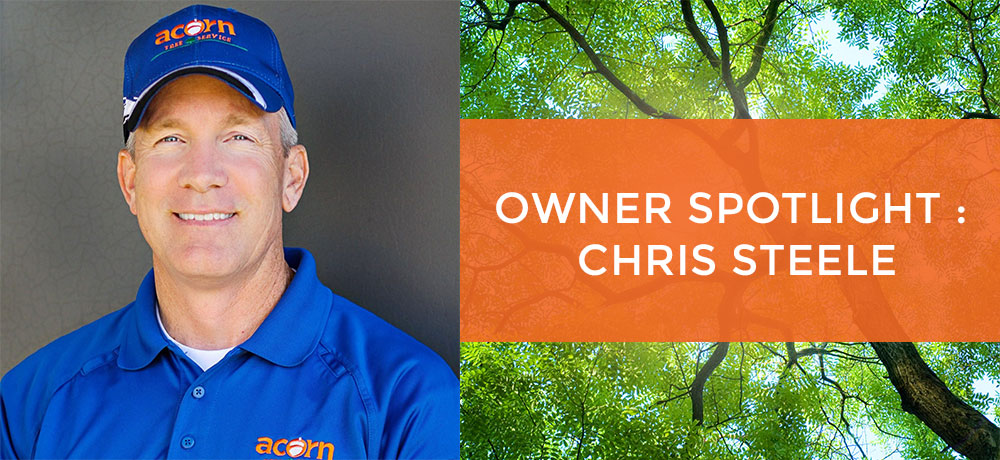 Chris Steele, owner of Acorn Tree Service