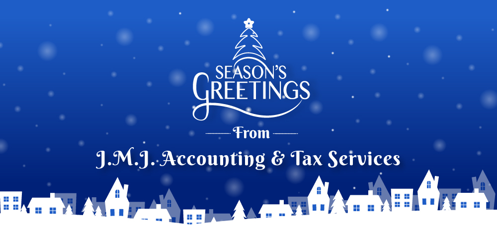 Season's Greetings from J.M.J. Accounting & Tax Services
