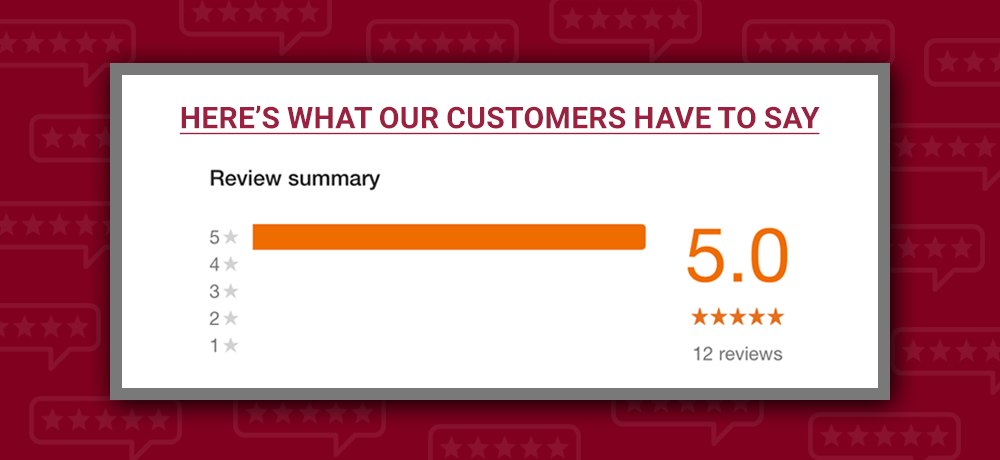Here's What Our Customers Have to Say