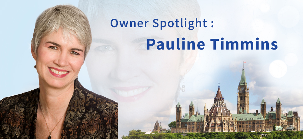 Owner Spotlight : Pauline Timmins