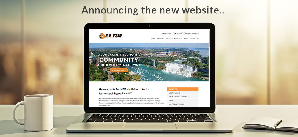 announcing new website