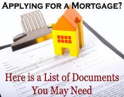 applying for a mortgage?