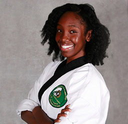 Ms. Whitney Brogsdale, Black Belt Instructor at Tae Kwon Do Ramblers Self-Defense Systems