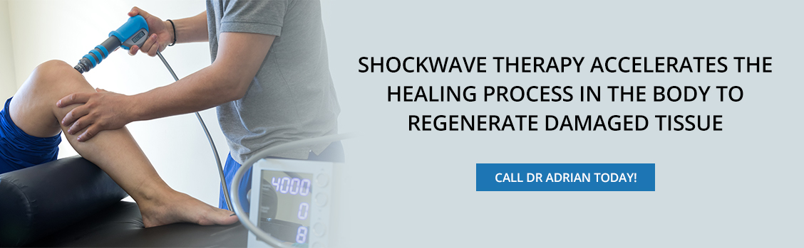 Shockwave Therapy Accelerates the Healing Process in the Body to Regenerate Damaged Tissue - Dr. Adrian Cohen