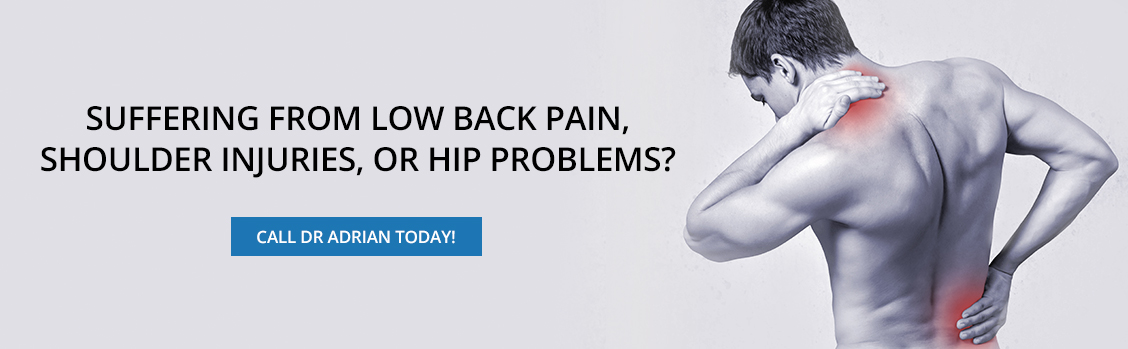 Suffering From Low Back Pain, Shoulder Injuries, or Hip Problems - Dr. Adrian Cohen Toronto Chiropractor