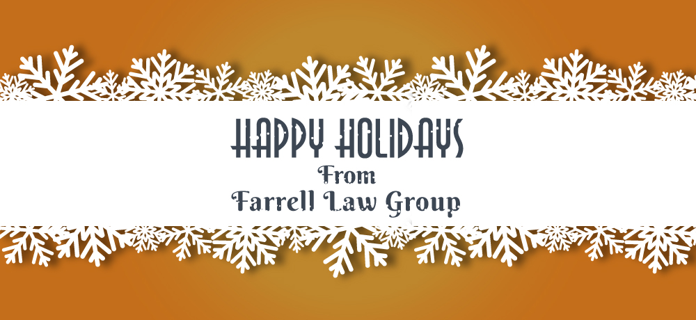 Season's Greetings from Farrell Law Group