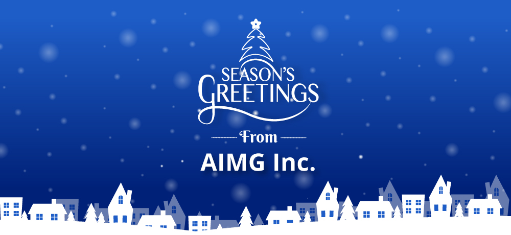 Season's Greetings from AIMG Inc.