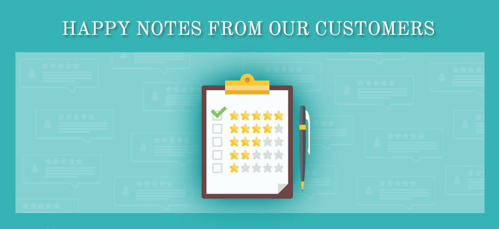 Happy Notes From Our Customers - Mark Luther Design