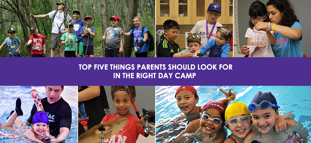 Top Five Things Parents Should Look For In The Right Day Camp