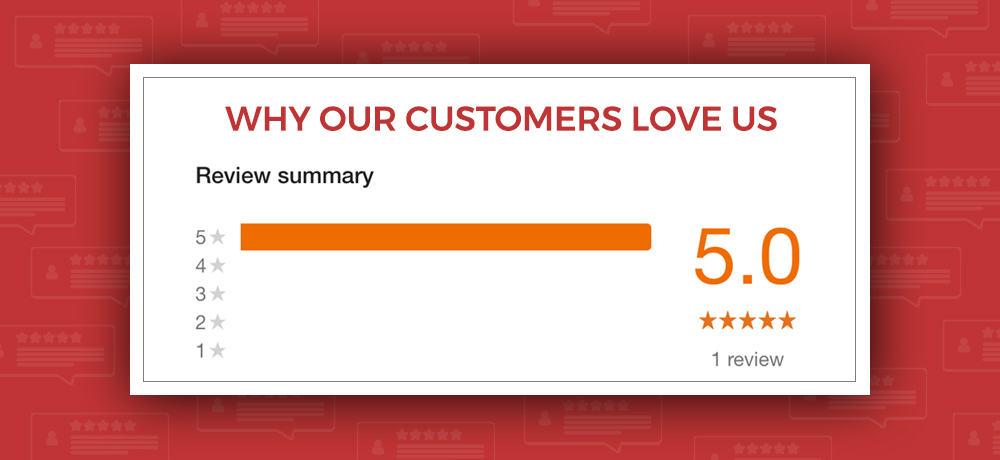 Why Our Customers Love Us