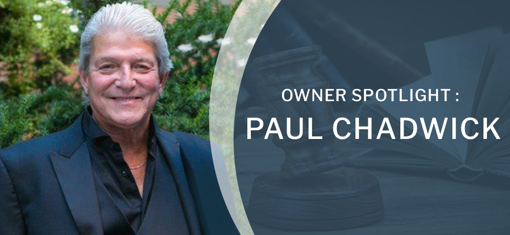 Owner Spotlight : Paul Chadwick