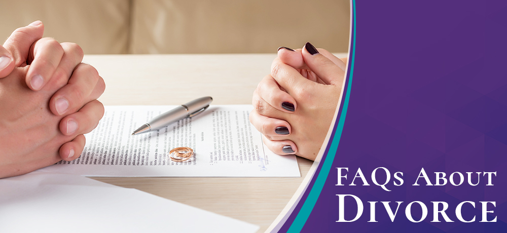 Frequently Asked Questions About Divorce