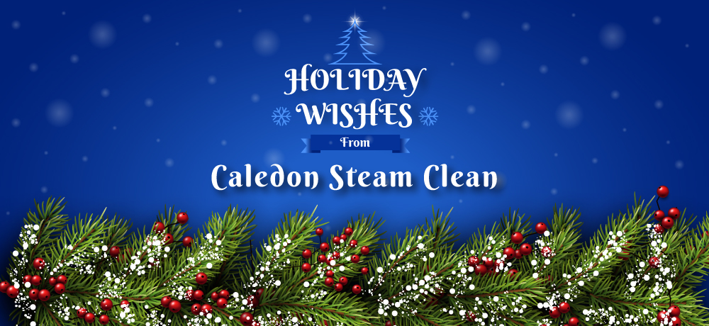 Season's Greetings from Caledon Steam Clean