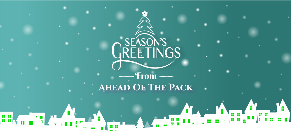 Season's Greetings from Ahead Of The Pack