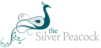 The Silver Peacock Inc. Logo