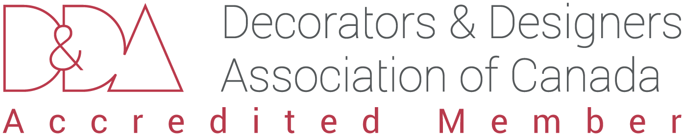 Accredited Member of Decorators and Designers Association of Canada