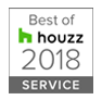 Best of Houzz Service 2018 Badge