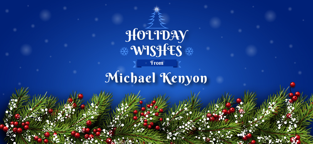 Season's Greetings from Michael Kenyon