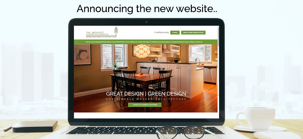 Announcing the New Website - The Architect Builders Collaborative Inc.