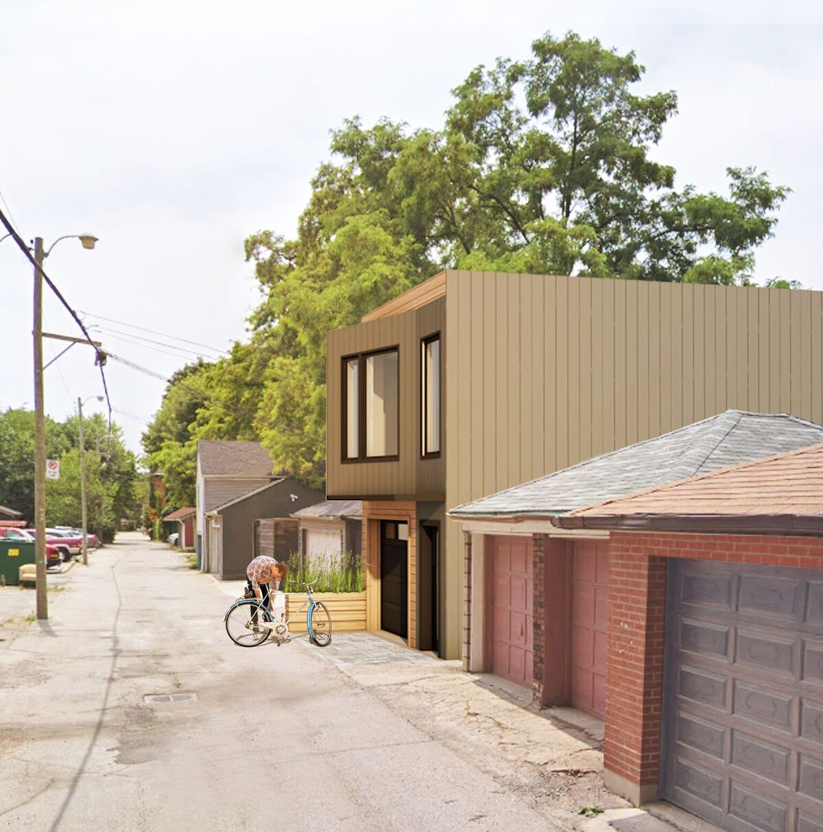 Laneway Housing in Toronto by The Architect Builders Collaborative Inc.