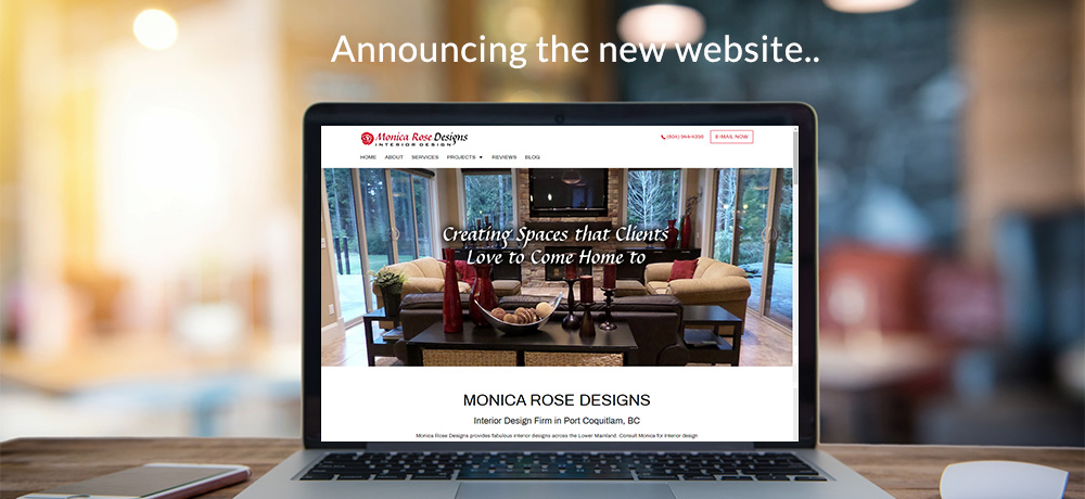 Announcing the new website -  Monica Rose Designs