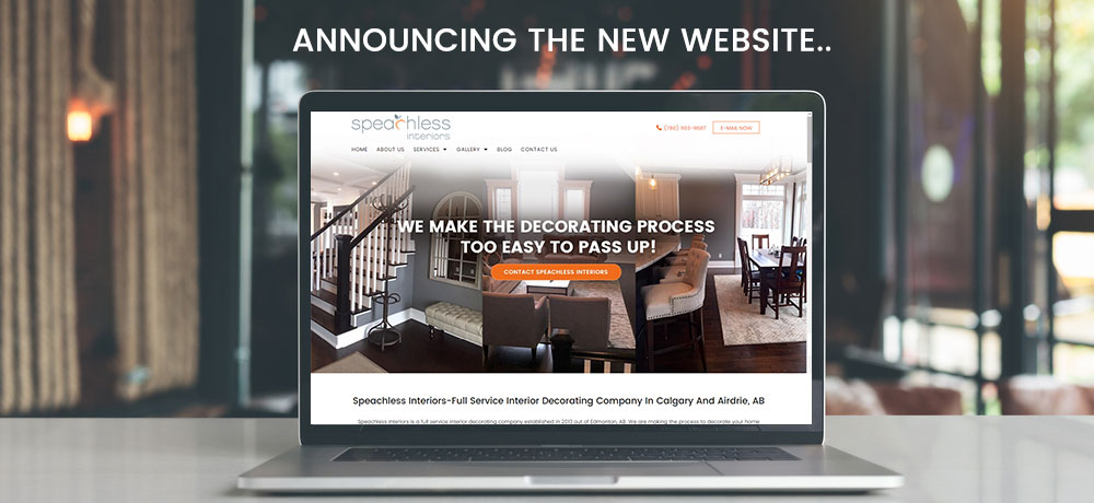 Annuncing new website