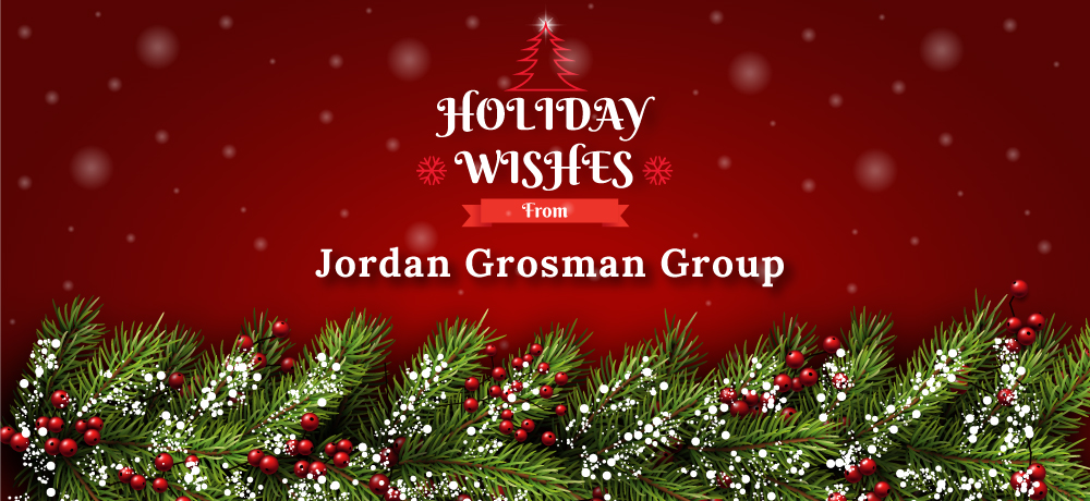 Season's Greetings from Jordan Grosman Group