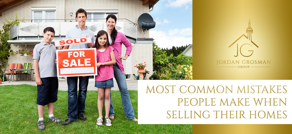 Most Common Mistakes People Make When Selling Their Homes