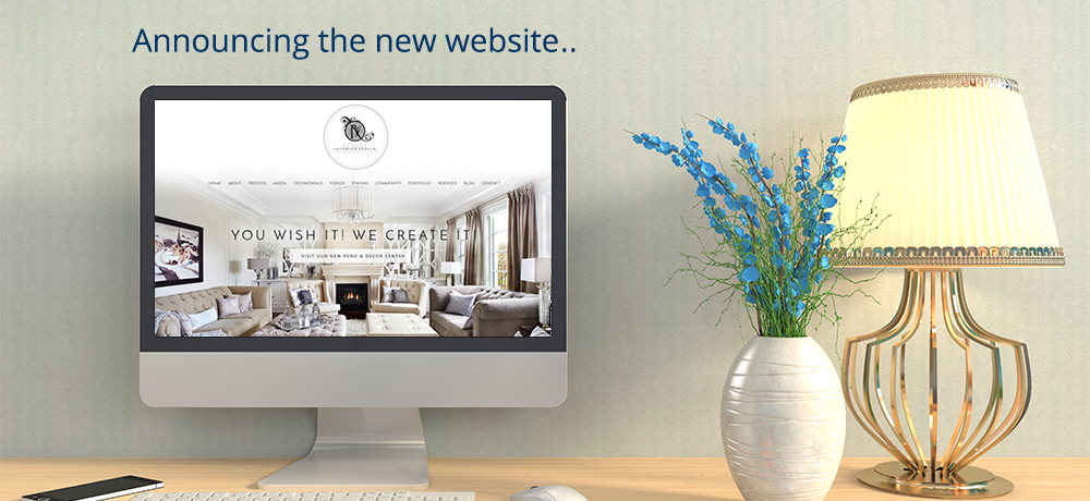 Announcing the New Website - Royal Interior Design Ltd.