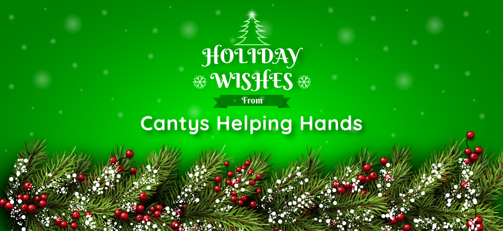 Season's Greetings from Cantys Helping Hands