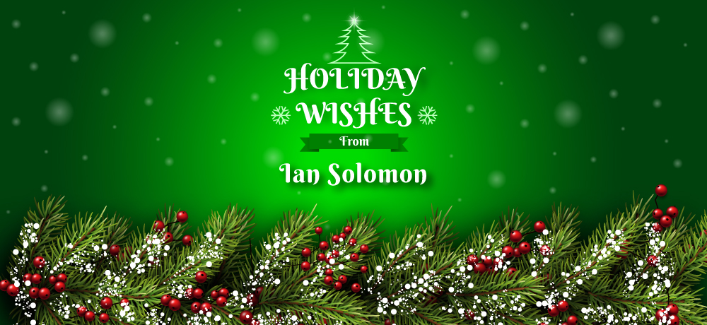 Season's Greetings from Ian Solomon