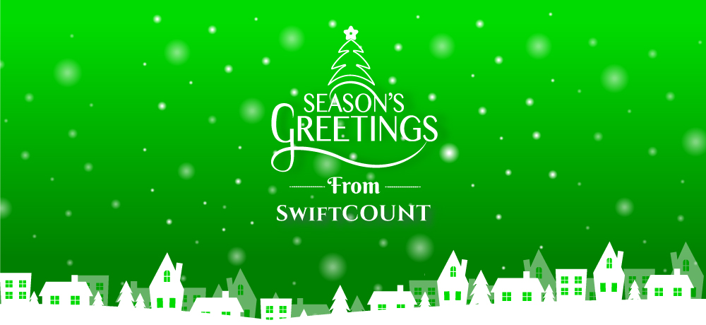 Season's Greetings from SwiftCOUNT