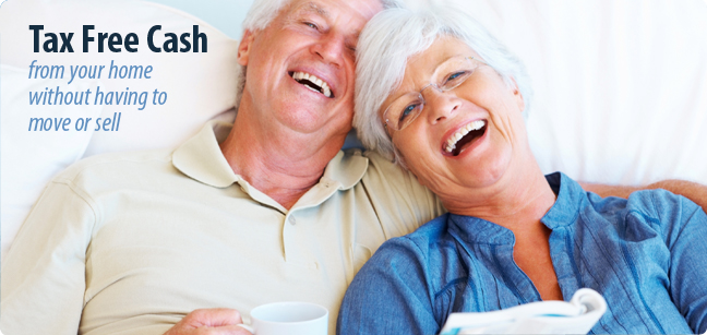 Reverse Mortgage pays you Tax Free Cash.