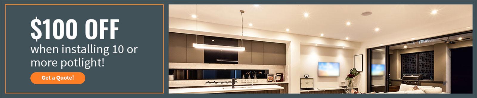Pot Light Installation, Outdoor, Indoor Lighting in Toronto, GTA