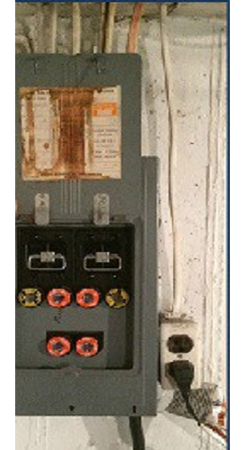 Before Electrical Panel Upgrade in Toronto by H MAN ELECTRIC