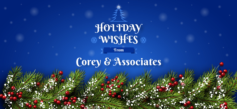 Season's Greetings from Corey & Associates