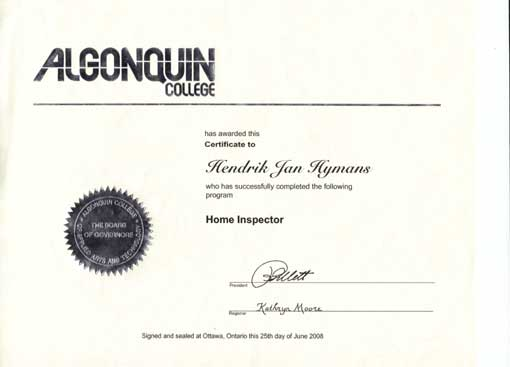 Home Inspectors in Ottawa
