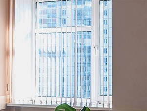 Vertical Window Blinds in Sherwood Park