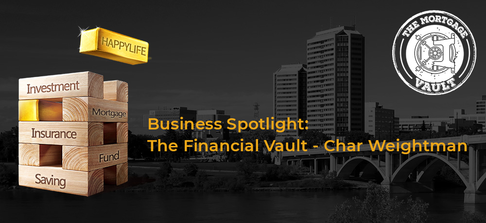 Business Spotlight: The Financial Vault - Char Weightman