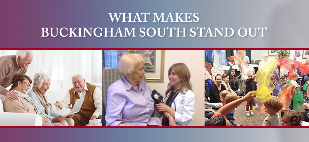 What Makes Buckingham South Stand Out