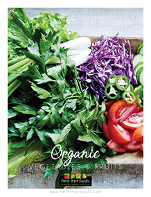 Organic Fruits and Vegetables Catalogues by Fresh Start Foods - Wholesale Fruits and Vegetables Distributor Quebec
