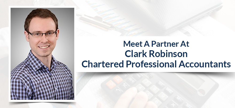 Meet A Partner At Clark Robinson Chartered Professional Accountants