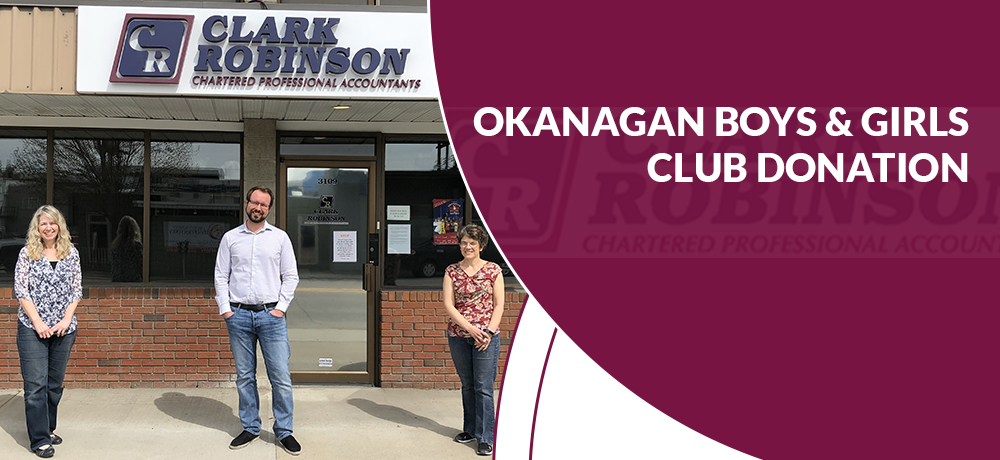 Okanagan Boys and Girls Club Donation