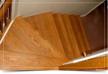 Flooring for Stairs by Al Havner and Sons Hardwood Flooring