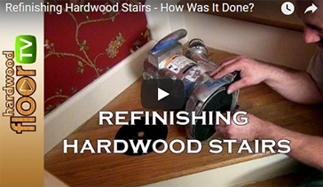 Refinishing Services for Staircases in Dearborn Heights, Michigan by Al Havner and Sons Hardwood Flooring