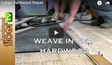 Large Hardwood Repair Services by Al Havner and Sons Hardwood Flooring