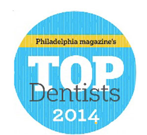 Philadelphia Magazine's Top Dentists 2014 badge