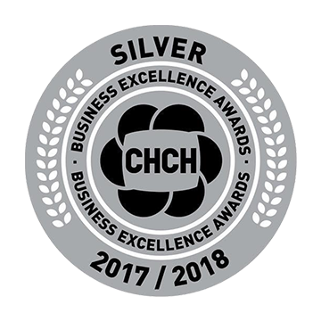 CHCH - Silver Business Excellence Awards 2017 and 2018 - Destined Dreams