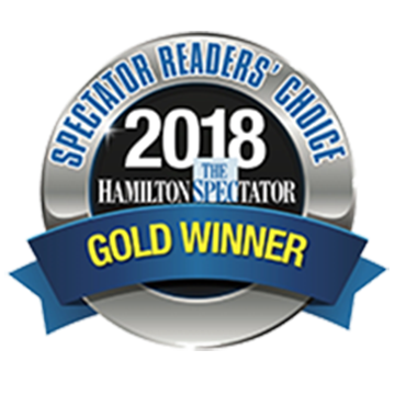 The Hamilton Spectator - Readers Choice 2018 Gold Winner - Destined Dreams
