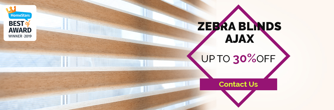 Zebra Blinds Ajax - Upto 30% Off